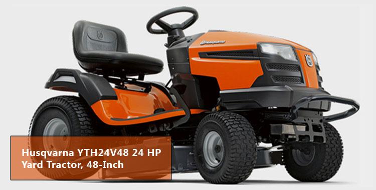 Husqvarna YTH24V48 24 HP Yard Tractor, 48-Inch