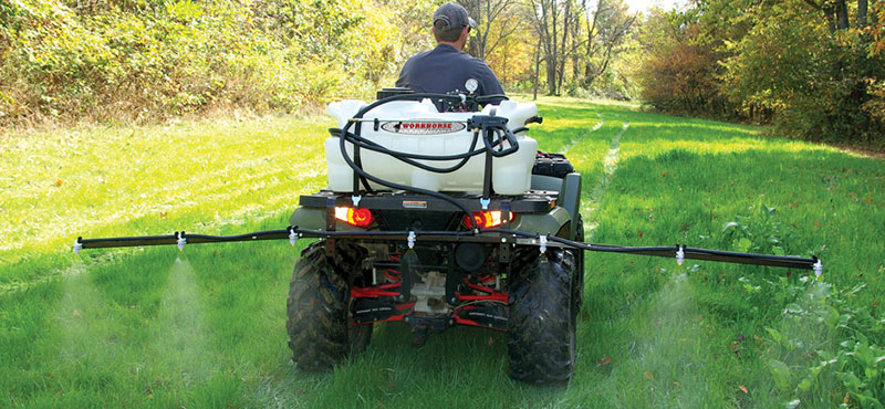 Sprayers Mower Attachment
